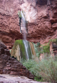 Grand Canyon Ribbon Falls | Sinjin Eberle