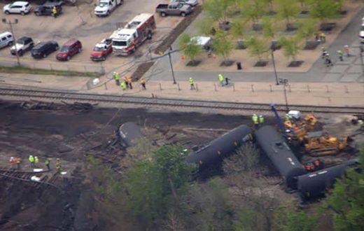 Lynchburg train derailment | James River Association
