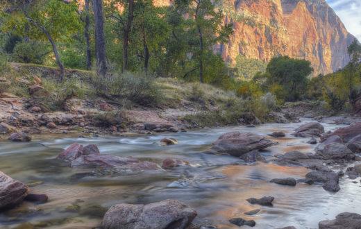 The Virgin River in Zion National Park, Utah. | Photo: Diana Robinson, flickrCC