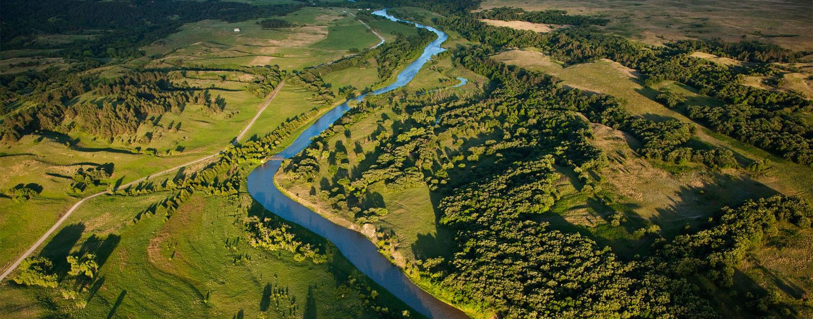 Niobrara River in Nebraska