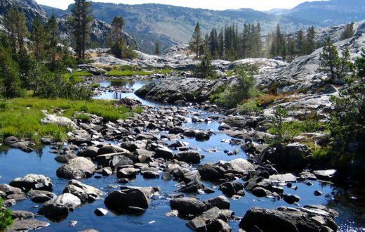 San Joaquin River headwaters | J Cook Fisher
