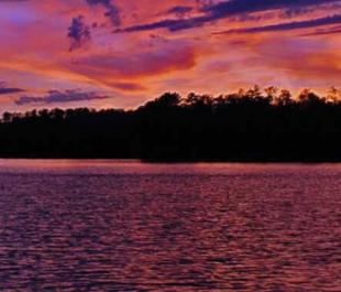 Boundary Waters Canoe Area at sunset | Photo by Thomas O'Keefe
