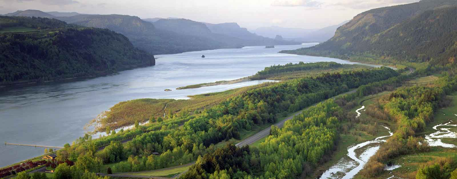 Image of: Columbia River American Rivers