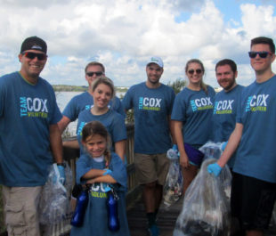 St. Johns River cleanup with Cox - Jacksonville, FL