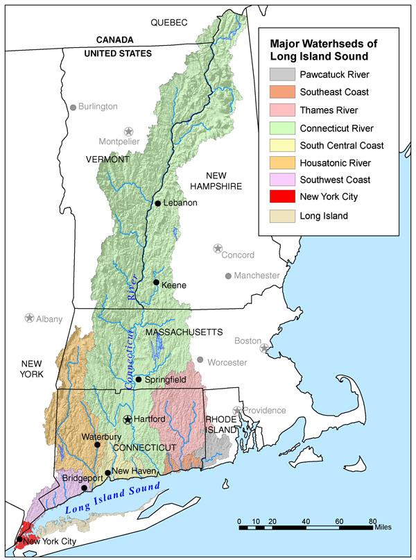 Connecticut River Us Map Connecticut River | American Rivers