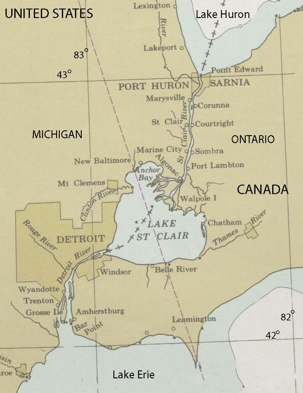 Detroit River American Rivers