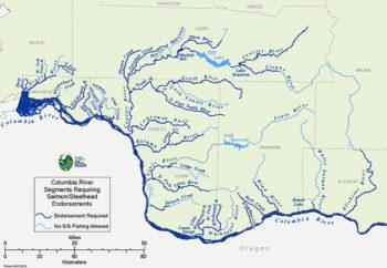 Map of the White Salmon River, WA | Washington Dept of Fish & Wildlife