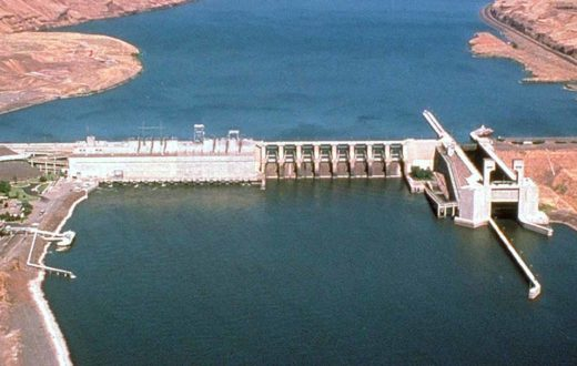 Lower Monumental Lock and Dam on the Snake River, WA   USACE