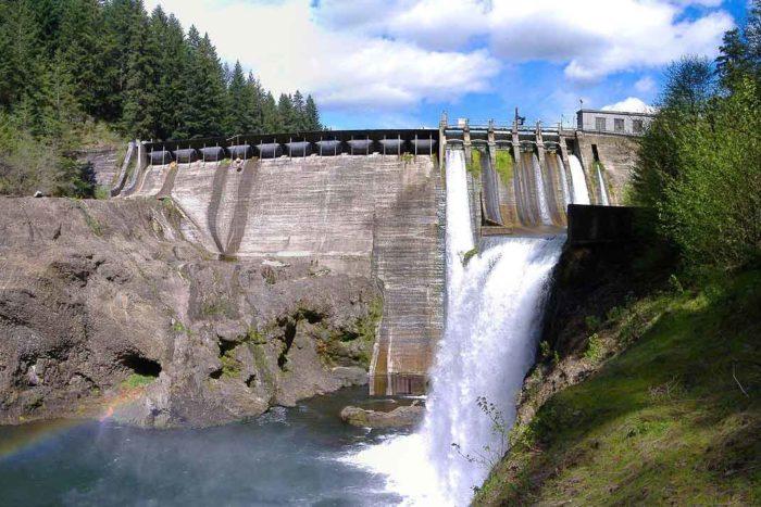 Condit Dam on the White Salmon River | Wikimedia
