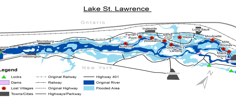 St. Lawrence Map Daniel Macfarlane
