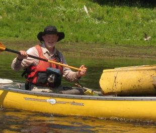 Norman Fred at Bietner Rapids in Michigan | Jocelyn Trepte