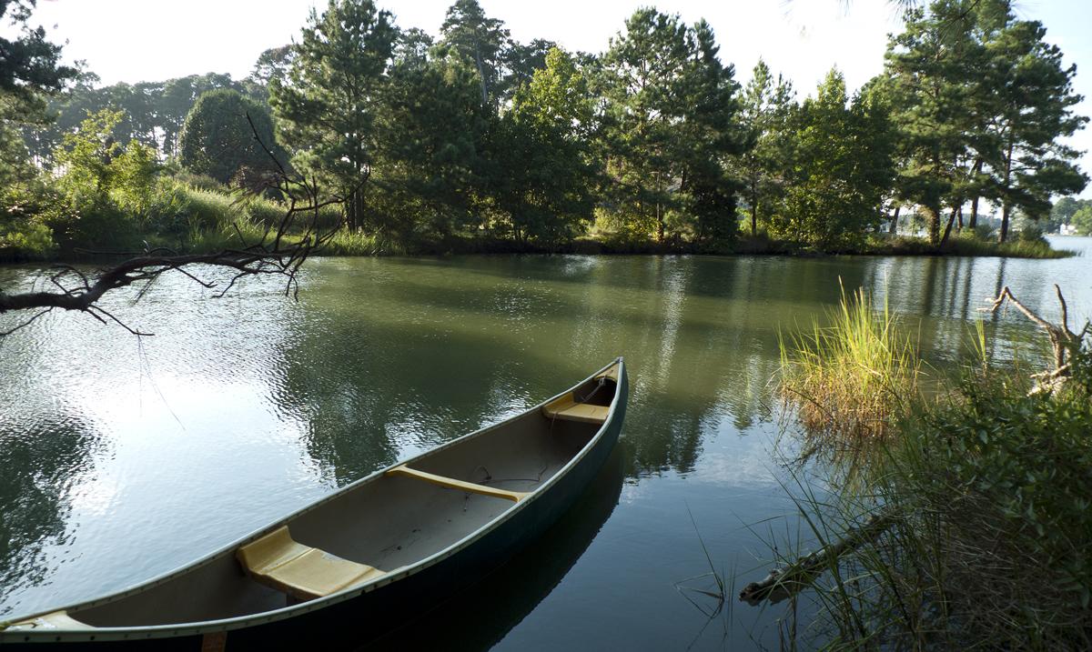A lagoon near the Rappahannock River in Virginia | TCDavis (Flickr)