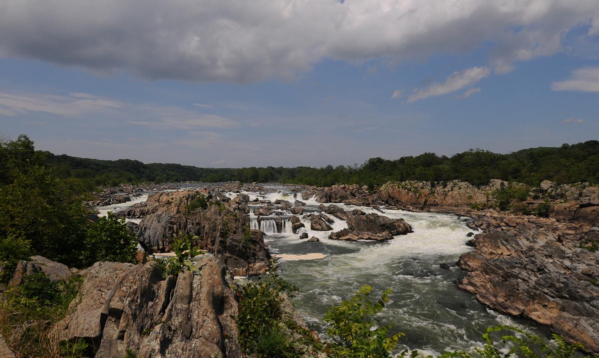 The Potomac River at Great Falls   Jamey (Flickr)