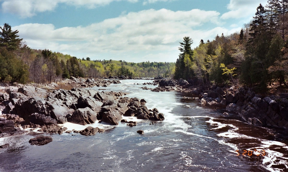 St. Louis River, Jay Cooke State Park |Steve Moses