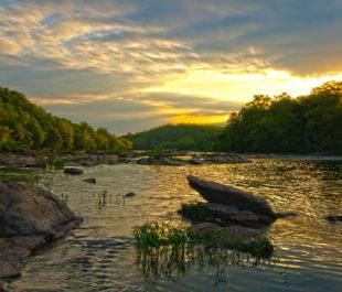 The Rappahannock River in Fredericksburg   justin.critzer (Flickr)