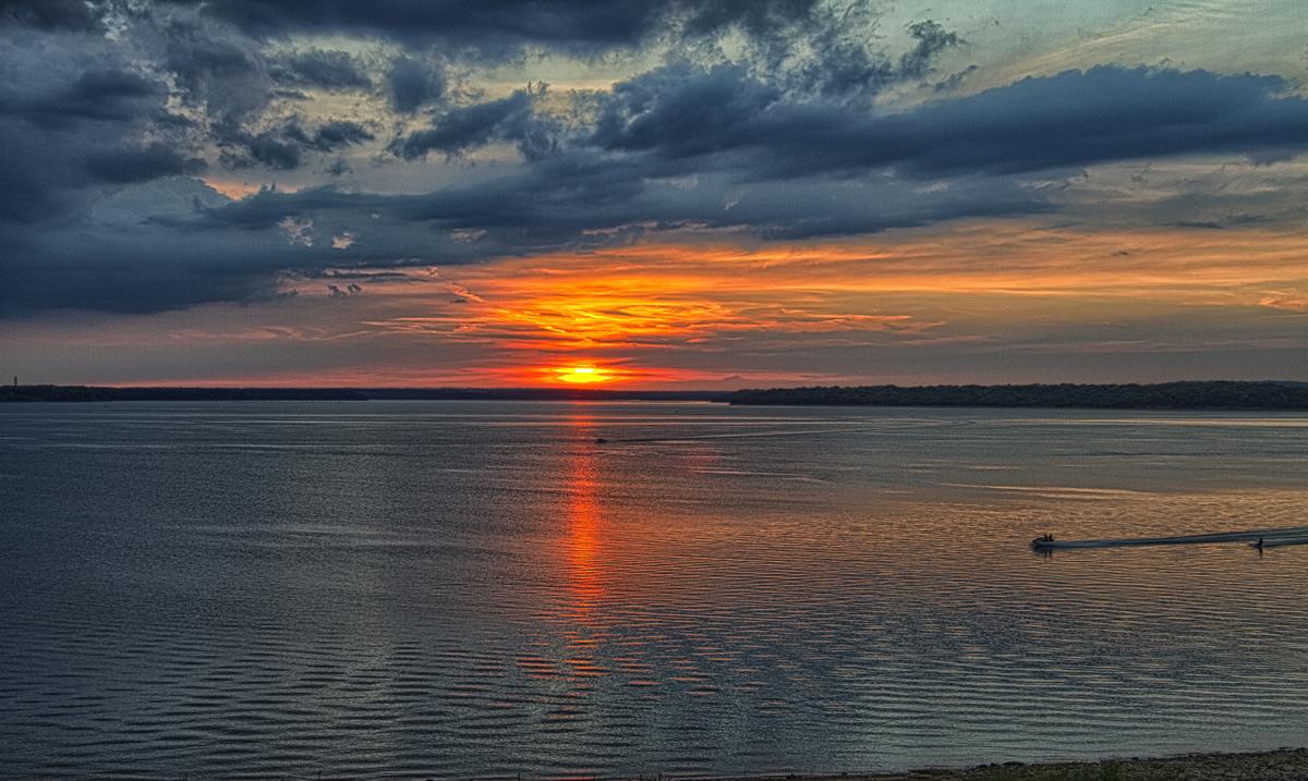 Sunset on the Kansas River | Patrick Emerson