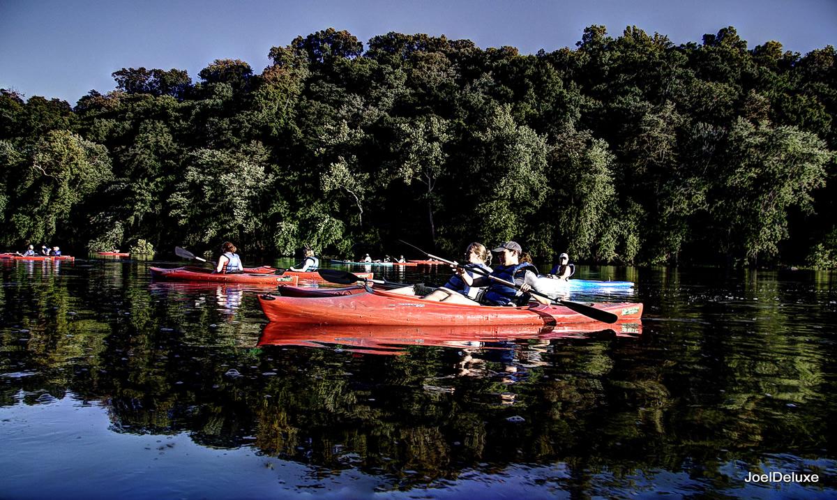 Kayaking on the Potomac   Joel Deluxe (Flickr)