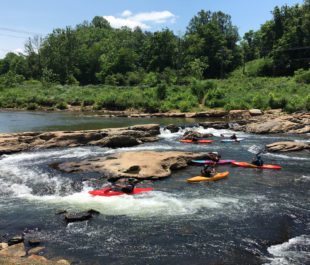 Kayaking on the Tuckasegee River   Photo by JCTDA