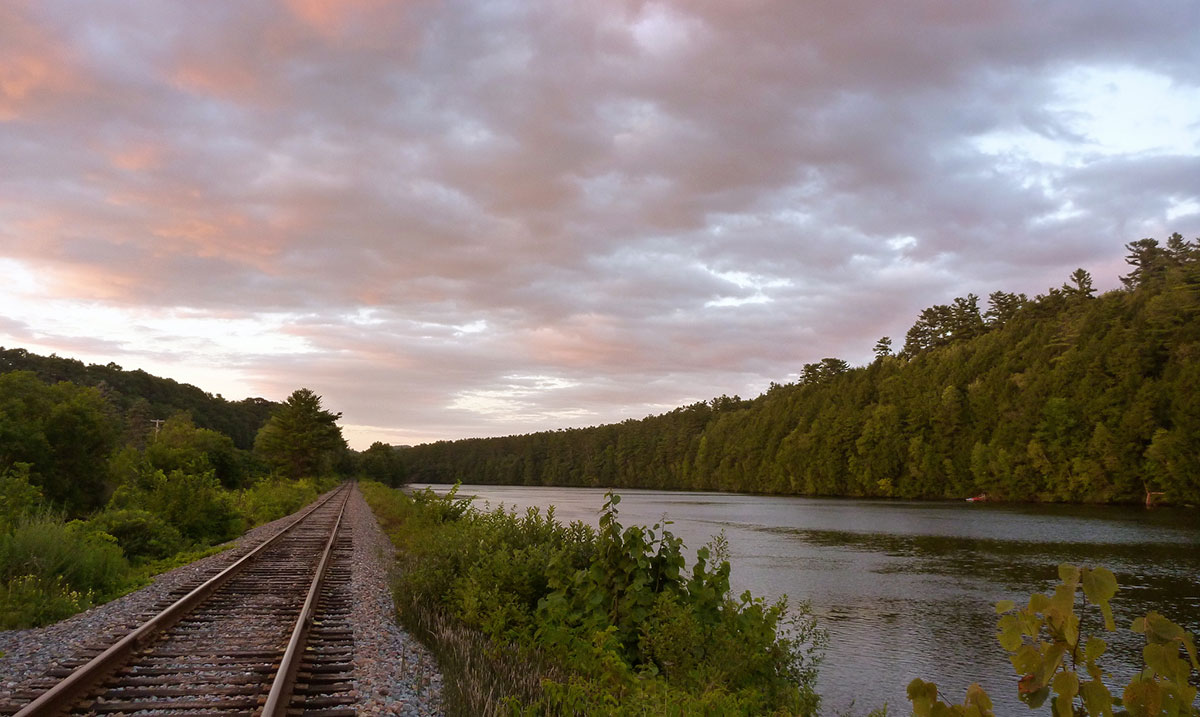 Connecticut River sunset | Rebecca Siegel