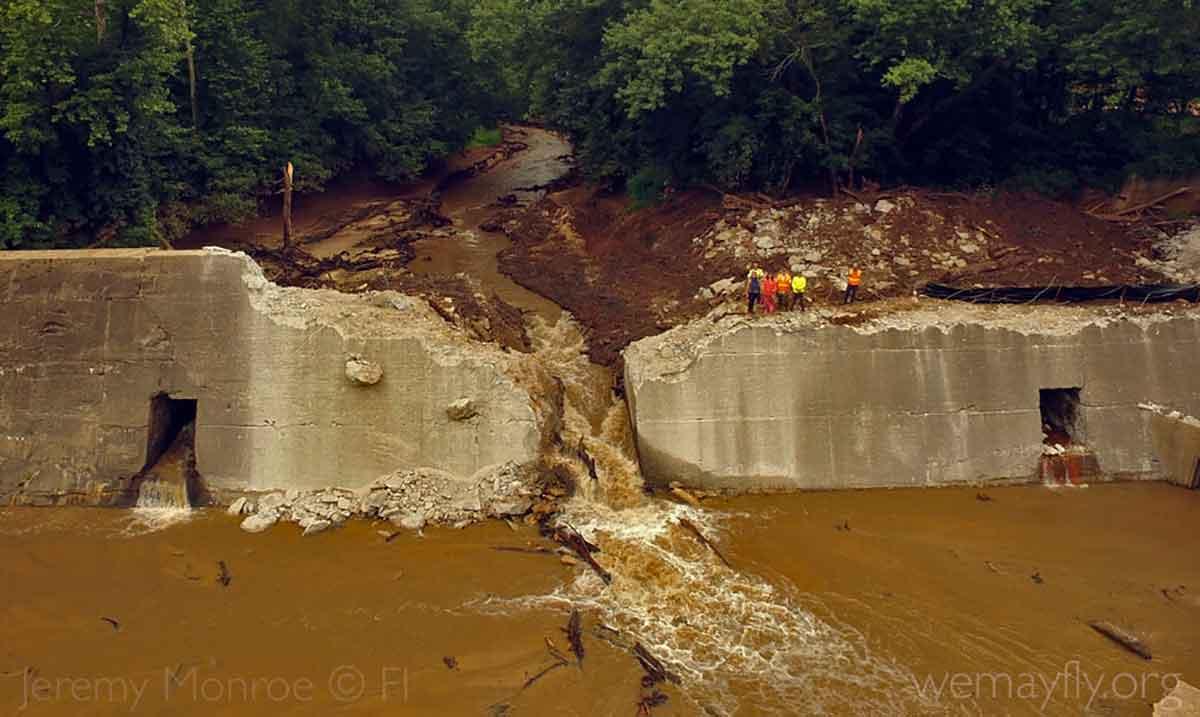 shuford dam removal