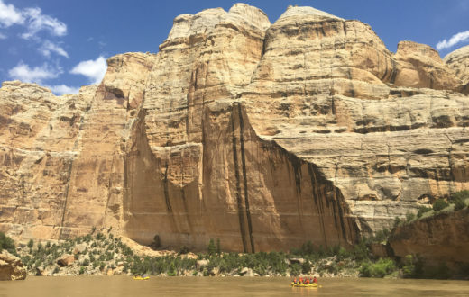 A stunning wall rises stoically above the Yampa River, northwestern Colorado | Sinjin Eberle