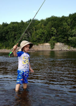 Fishing on the Merrimack  Keith Curley