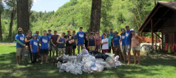 Yampa River Cleanup | Kent Vertrees