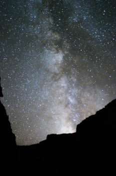 Stars and the Milky Way at Ledge's Camp.
