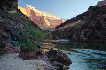 Sunrise at Garnet Creek.