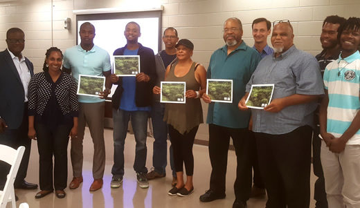 Local community members at Watershed Advocacy Training. | Jeremy Diner
