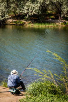 Fishing on the Lower Snake River, ID. | Alison M. Jones