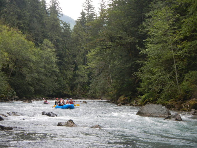On the Nooksack River with Wild & Scenic River Tours. | Wendy McDermott
