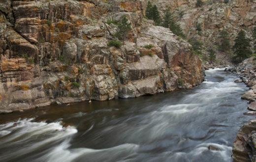 Colorado's Cache la Poudre River narrows area. | Tim Palmer, USFWS