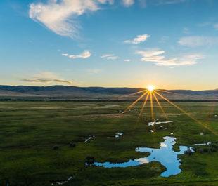Upper Colorado River sunrise.   Russ Schnitzer