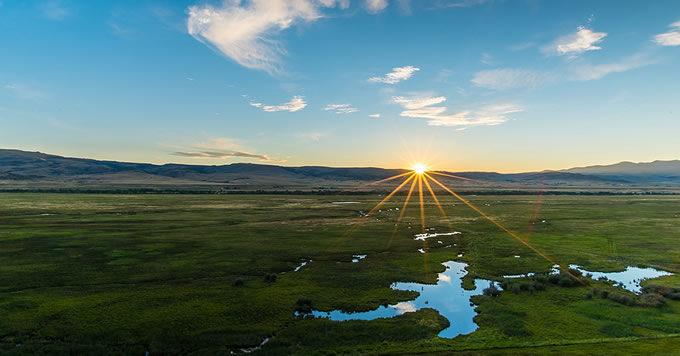 Upper Colorado River sunrise. | Russ Schnitzer
