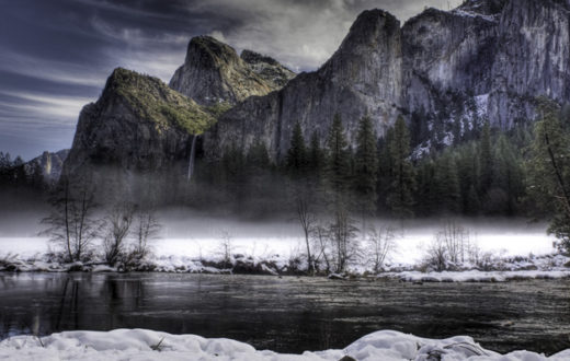 Merced River, a tributary of the San Joaquin, from Yosemite Valley. | ©2012 Center for Digital Archaeology