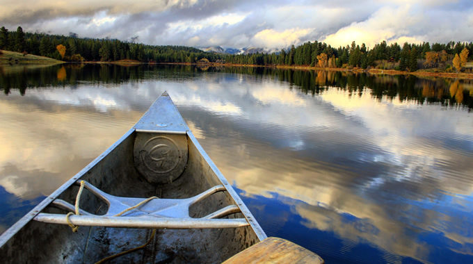 Upsata Lake, Blackfoot River Valley, MT.   Joe Zimbric