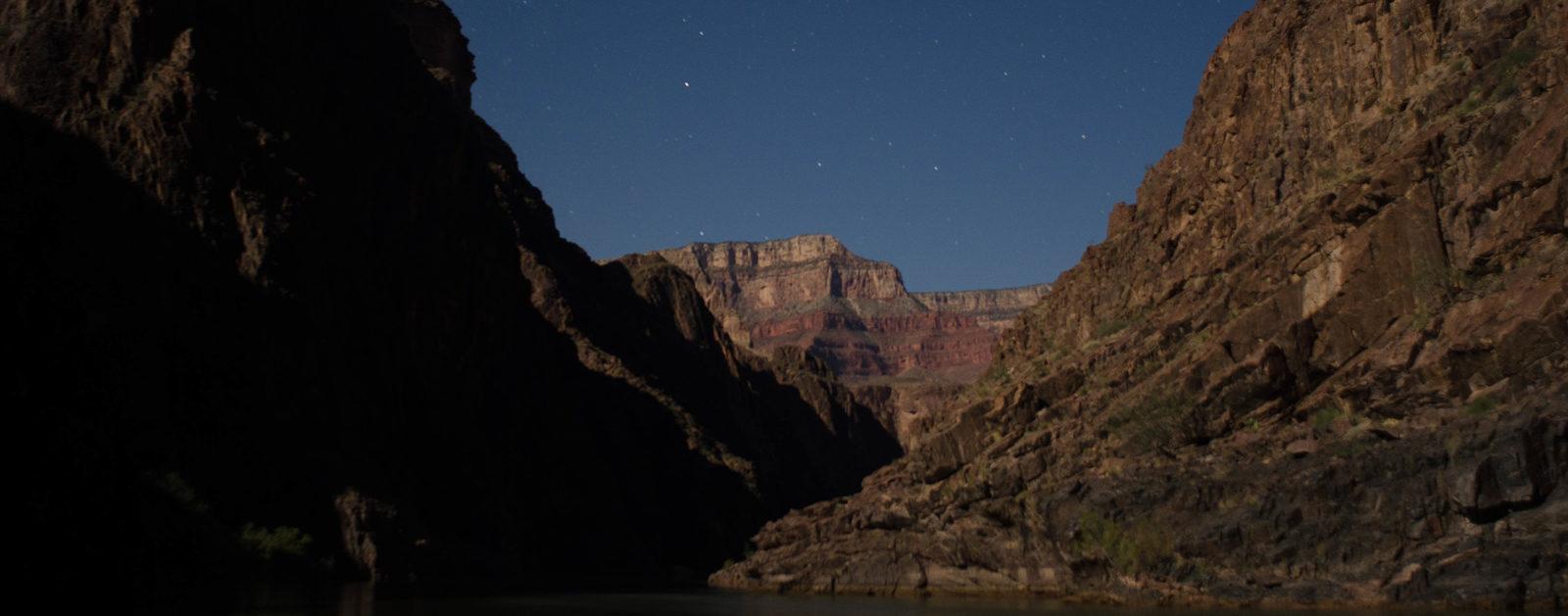 Moon light at Salt Creek. | Ken Neubecker