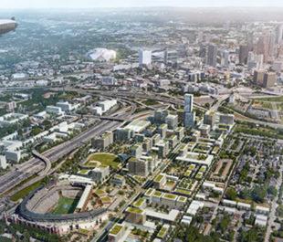 Arial view of a greener Atlanta | Turner Field Stadium Neighborhoods Livable Centers Initiative