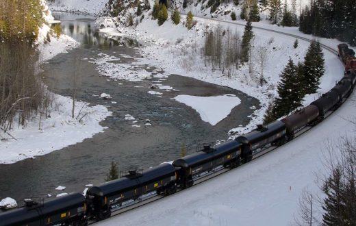 Oil trains on MF Flathead   Roy Luck
