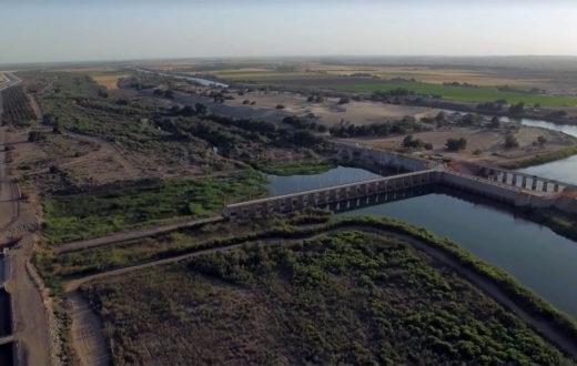 Morelos Dam, Lower Colorado River | Justin Clifton