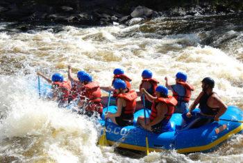 Menominee river rafting. | David Dames