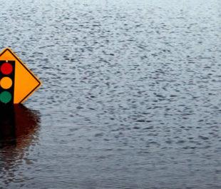 Flooded sign   Photo: Alachua County