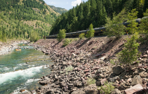 Flathead Oil trains | Ryan Connor