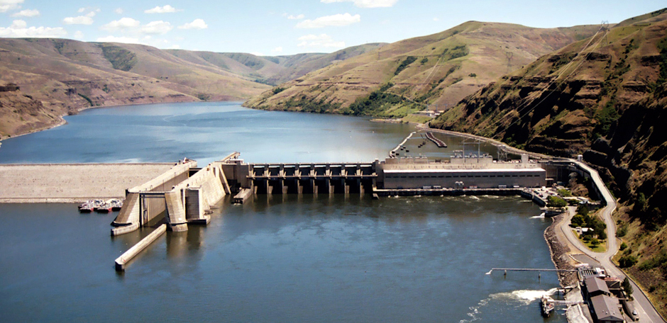 Granite Dam on the Snake River | Photo: Army Corps of Engineers