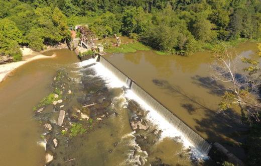 Milburnie Dam | Photo: Restoration Systems