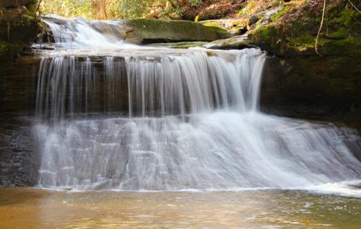 Creation Falls in Red River Gorge, KY. | Karen Roussel (Flickr)