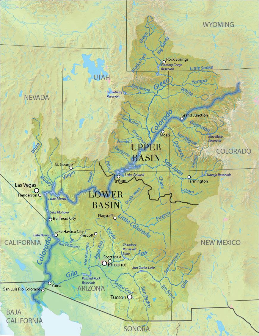 Upper Basin of the Colorado River  American Rivers