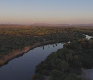 The Colorado River through Yuma, AZ. | Sinjin Eberle