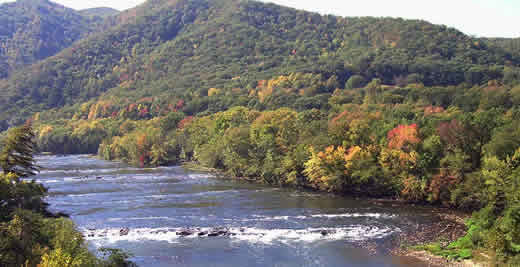 French Broad River, NC   Peter Raabe